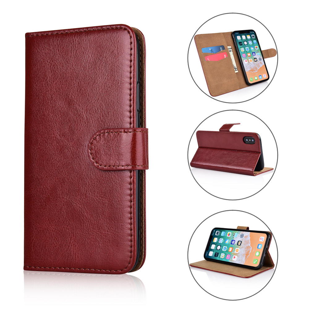For  Leagoo Z5C / Z5 Lte / Z5 Case cover Kickstand flip leather Wallet case With Card Pocket