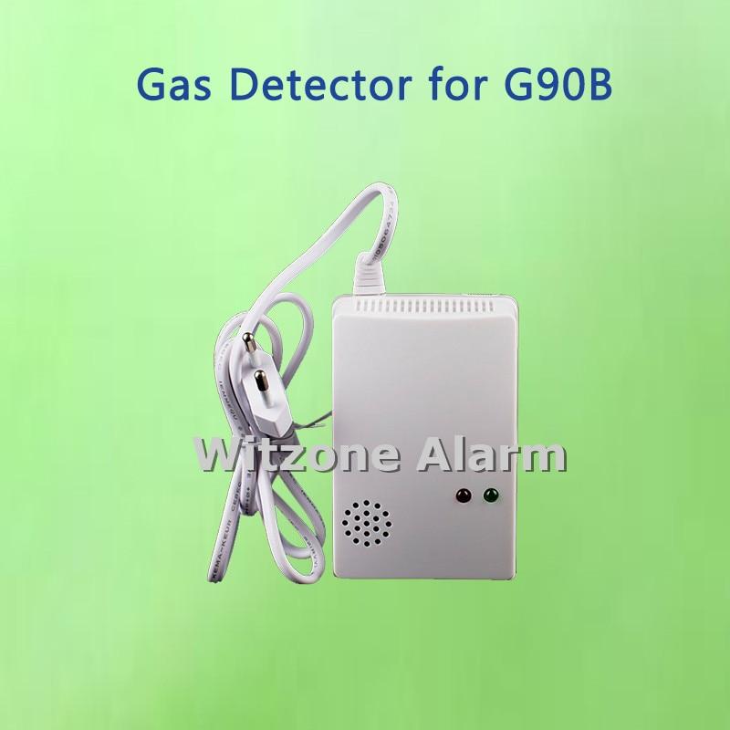 Wireless LPG LNG Gas Sensor,Combustible Gas Leak Detector for G90B,KR-8218G,G19 high sensitivity standalone combustible gas alarm lpg lng coal natural gas leak detector sensor for home security safety