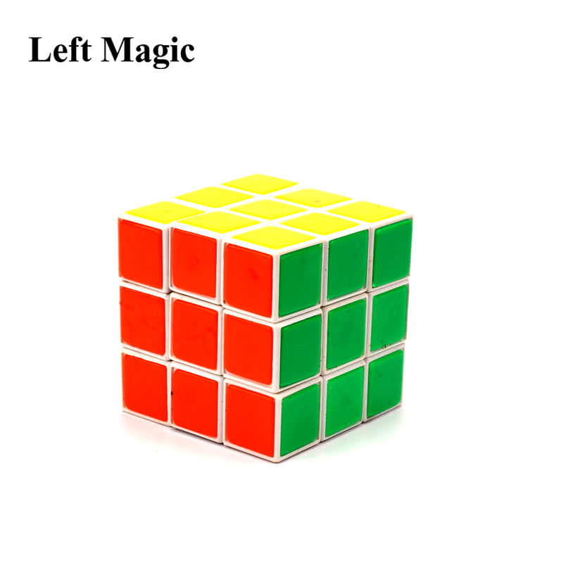 Flash Cube Restore Magic Tricks Instant Restore Cube Close Up Stage Magic Props Accessories Comedy Illusions G8176