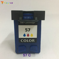 Vilaxh For Hp57 Ink Cartridge C6657A For Hp 57 For Hp 5150 450CI 5550 5650 7760