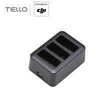 Аксессуары для зарядки аккумулятора DJI Tello могут заряжать до четырех интеллектуальных летных батарей Tello для DJI Tello