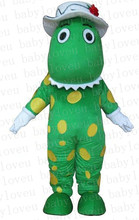 green Dorothy mascot costume custum  color halloween costumes party dinosaurs fancy dress christmas gift