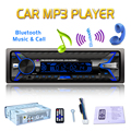 12V 1Din Car Radio Audio Bluetooth Stereo MP3 Player 7 Color Light Front Detachable Panel Support SD / FM / AUX / USB