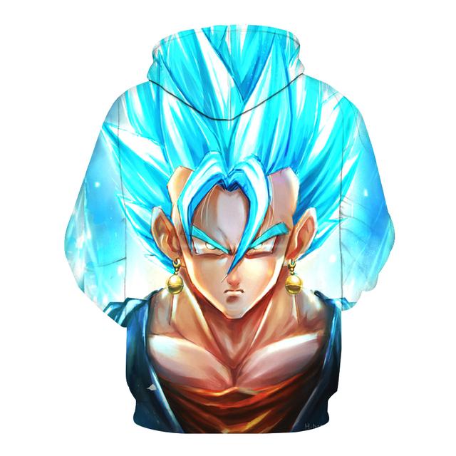 Dragon Ball Z Super Blue Vegito Hoodie
