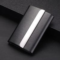 High Grade Stainless Steel Business Card Case Cigarette Case Metal Card Holder Gift For Men's Cigarette Case