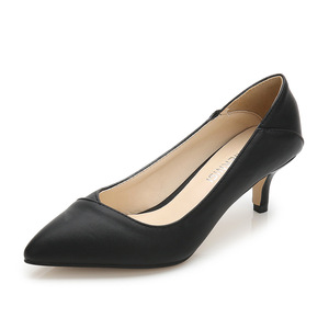 Image 4 - Plus Size 36 46 Women Shoes Pointed Toe Pumps Patent Pu Casual Shoes Kitten Heels Boat Shoes Wedding shoes  zapatos de mujer