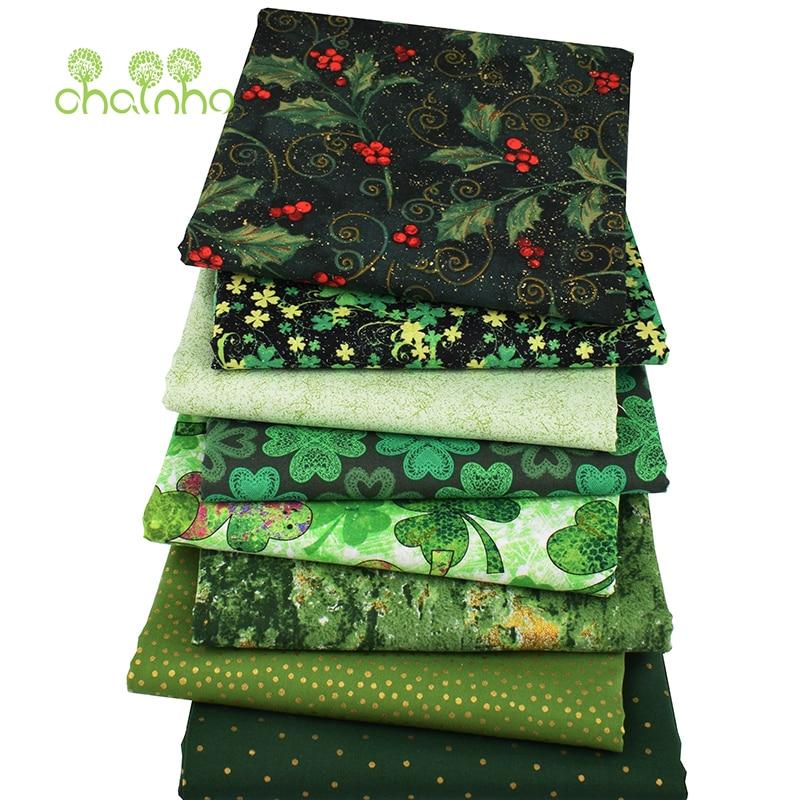 8 шт./партия, простая хлопковая ткань, Лоскутная Ткань, бронзовая серия ручной работы DIY шитье и шитье ремесел, подушка, сумка текстильный материал