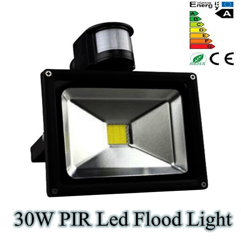 30w Led Flood Lights In Dubai Outdoor Lighting: 30W PIR LED Flood Light Outdoor Motion Sensor Floodlight