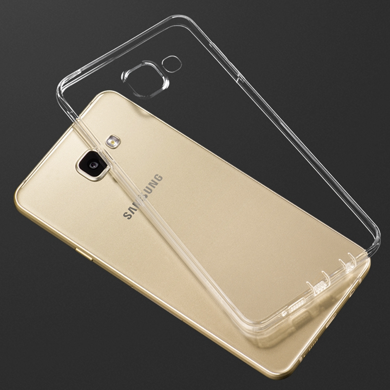 Clear Ultra Thin Soft TPU Back Cover For Samsung Galaxy A3 A5 A7 2016 A310F A510F A710F Note 3 4 5 Note5 Grand Prime Phone Case
