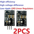 2x5 Вт постоянный ток 6-40 В до 3,3 В 5 в с низким уровнем шума 2 в 1 LDO линейные регуляторы и стандартный понижающий модуль преобразователя, замена ...