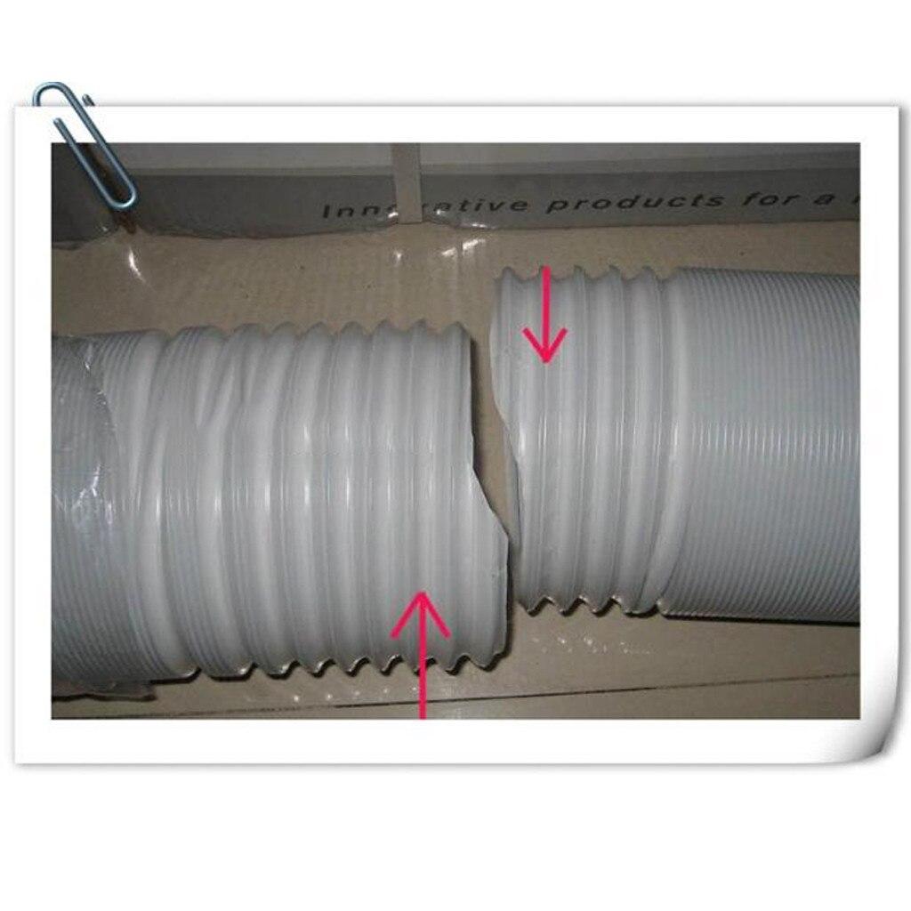 Мягкая перегородка Универсальный Мобильный кондиционер выхлопная труба телескопическая тепловая труба