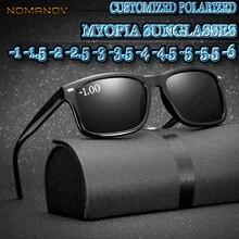 Custom Made Myopia Minus Prescription Polarized Lens Black Leopard FRAME Classic Simple Frame Polari