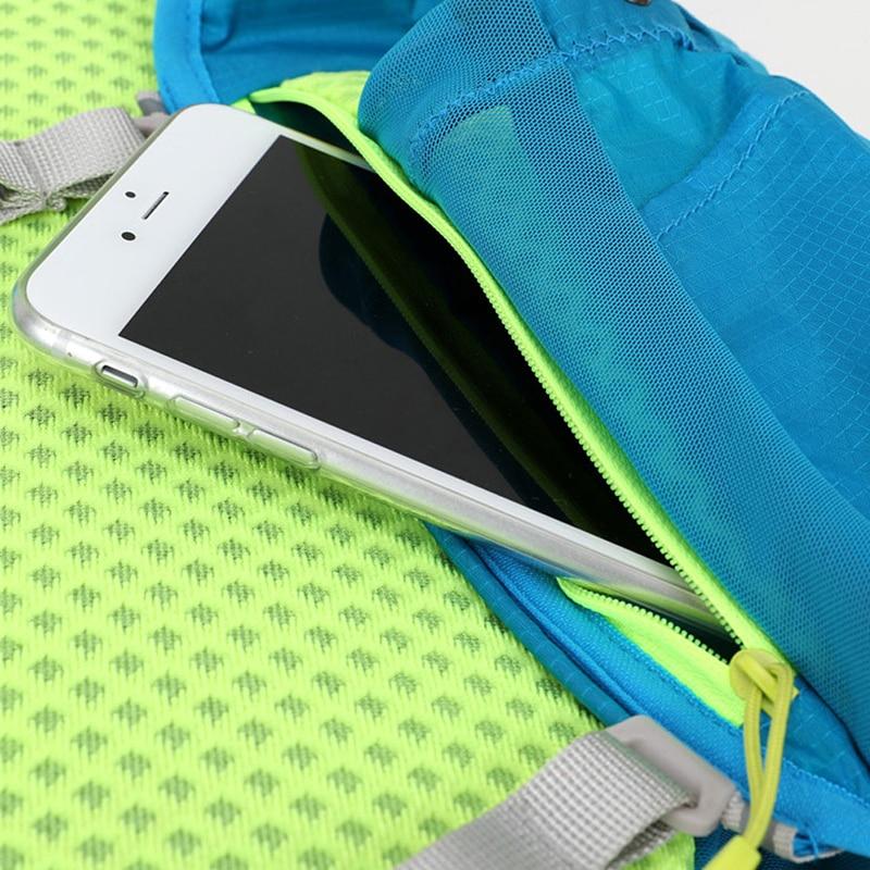 Купить с кэшбэком 8L Outdoor Lightweight Hydration Backpack Rucksack Bag Vest for 1.5L Water Bladder Hiking Camping Running Marathon Race