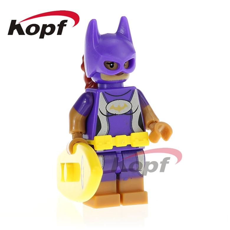 20Pcs PG412 Super Heroes Batgirl Wonder Twins Zan Jayna General Zod Building Blocks Bricks Education Doll Toys Gift For Children