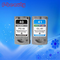 High quality PG 40 CL 41 ink cartridge compatible for Canon PIXMA IP2500 IP2600 MX300 MX310 MP160 MP140 MP150 MP180 MP190 MP220