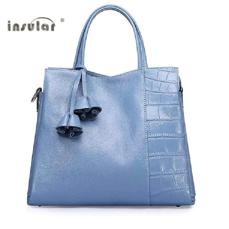 100% Brand New High Quality New Generous Cowhide Leather Handbag Portable Baotou Layer Ms Single Shoulder Bag Handbag