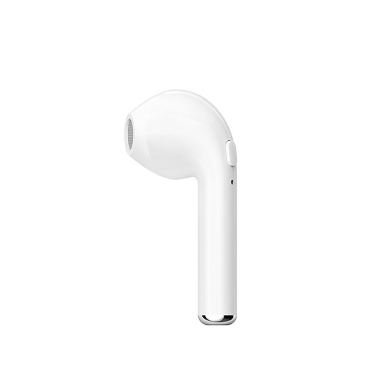 Earphones I7 Mini Bluetooth Earbud Wireless Headphones Headset With Mic Stereo bluetooth Earphone for Iphone 7/7 plus 6s PK V1 hena earphones i7 mini i7 bluetooth wireless headphones headset with mic stereo bluetooth earphone for iphone 8 7 plus 6s