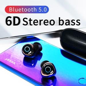 Image 5 - OVEVO Q65 TWS Bluetooth V5.0 Kopfhörer HiFi Dual Wrieless 3D Stereo headset Wasserdichte Sport Ohrhörer Für Xiaomi Telefone Mit Mic