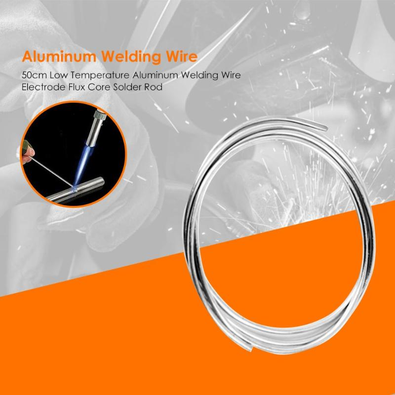 50cm Welding Wires Cored Solder Wire For Condenser Vehicle Air Conditioning Low Temperature Aluminum Electrode