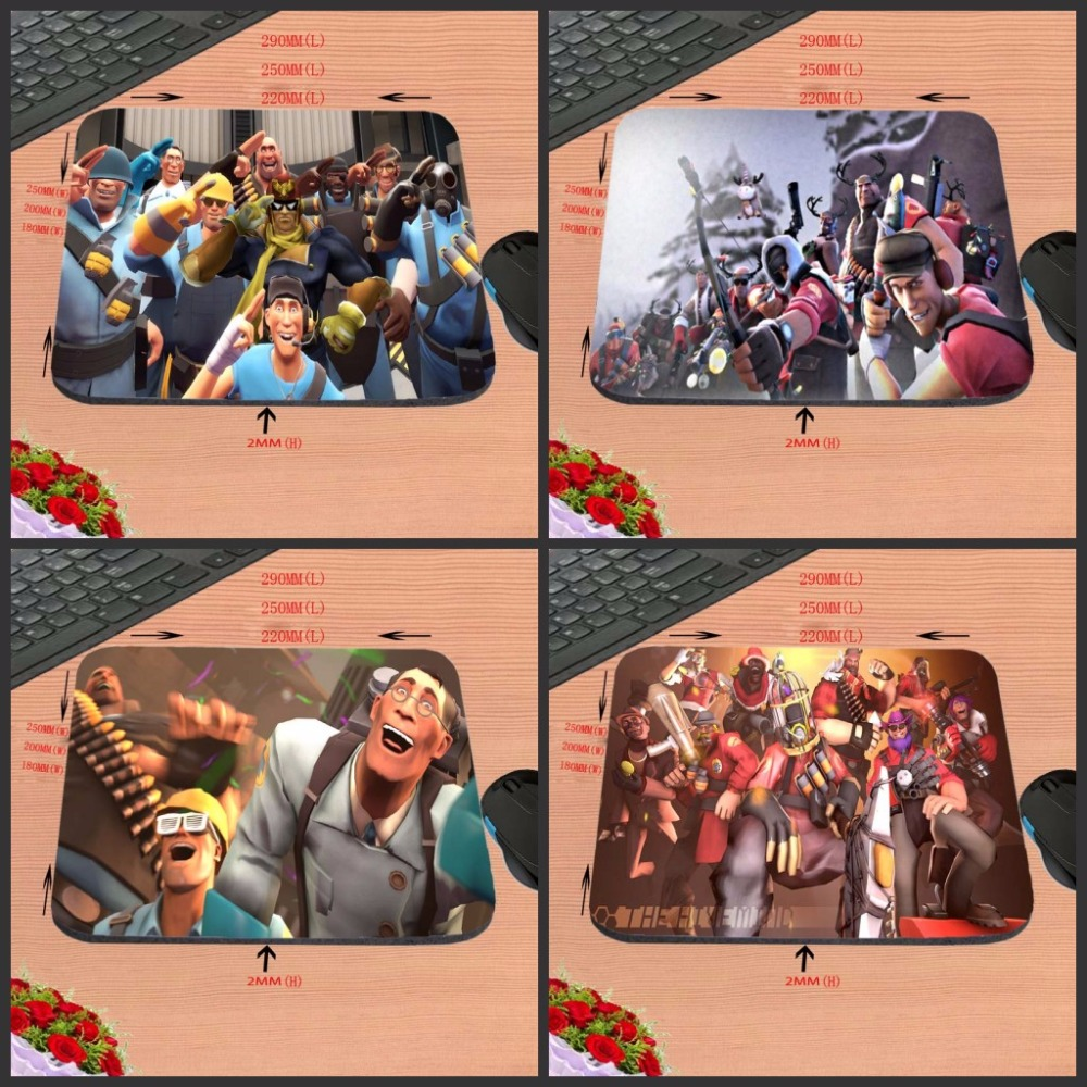 Print Team Fortress 2 New Arrival Top Quality Customized font b Gaming b font Durable Mouse