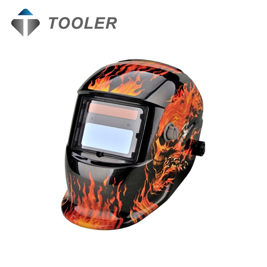 Solar Auto Darkening MIG MMA Electric Welding Mask/Helmet/welder Cap/Welding Lens for Welding Machine riland x701 solar auto darkening mig mma electric arc welding mask helmet welder cap for welding machine