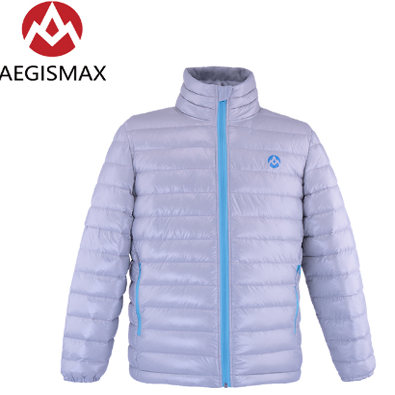 AEGISMAX Unisex Ultra-Light 800FP 95% White Goose Down Outdoor Camping Keep Warm Winter Down Jacket