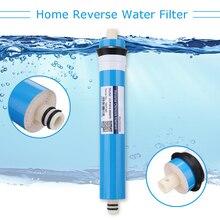 50/75/100/125GPD домашняя кухня обратного осмоса RO мембрана замена системы воды фильтр очиститель питьевой воды