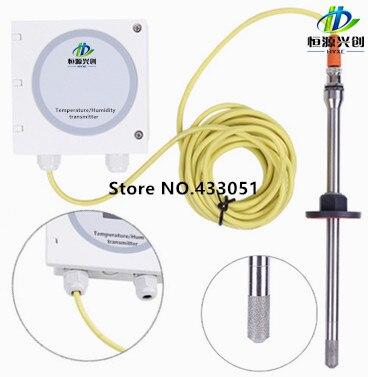 Transmetteur d'humidité de la température fixé au mur/capteur d'humidité de la température 9 ~ 36VDC/4 ~ 20mA/0 ~ 5 V/0 ~ 10 V/RS485