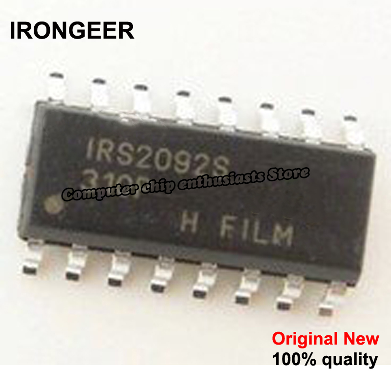 2pcs Irs2092s Sop16 Irs2092strpbf Sop Irs2092 Sop-16 Smd New And Original Ic High Quality Goods