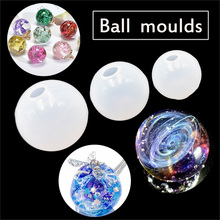 Stereo spheric Craft Silicone Mould epoxy resin mold for jewelry Jewelry Making Mold Resin Decorative silicone