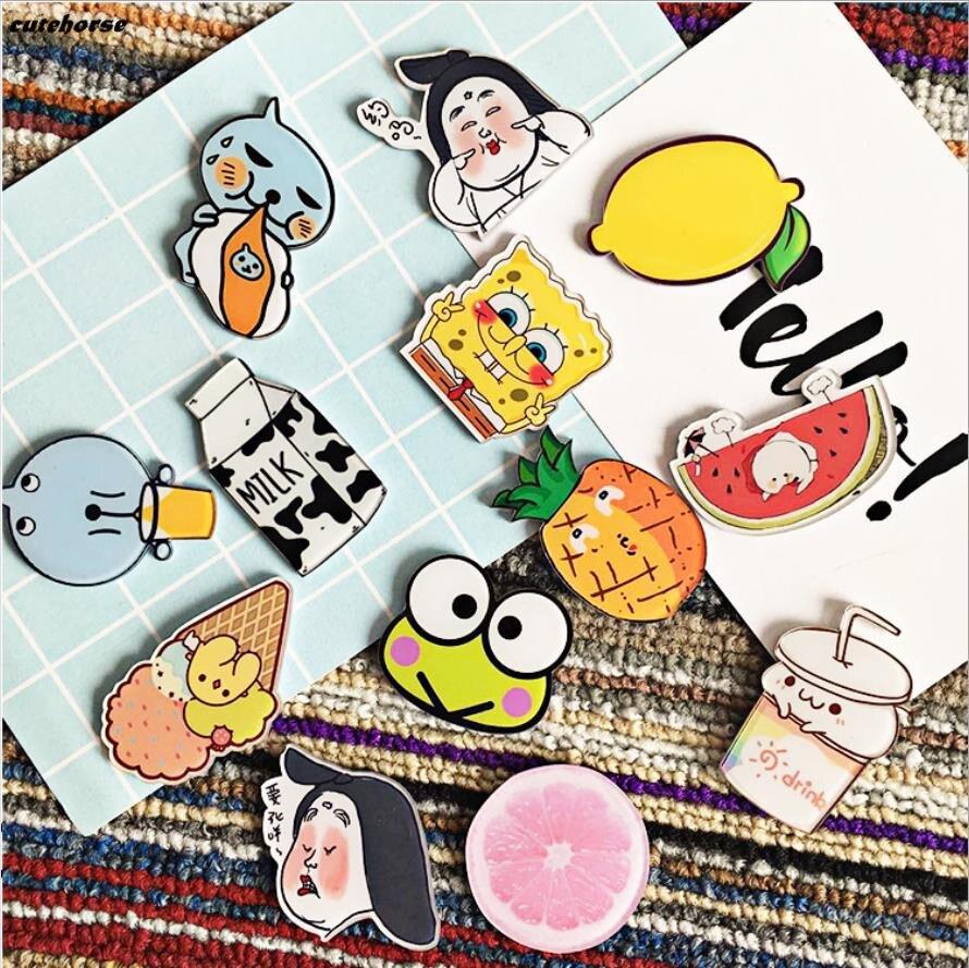Япония и Южная Корея yakeli прекрасный мультфильм собака девочка-магнит на холодильник