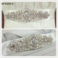 Pearl Wedding Belt Sparkly Beaded Rhinestone Belts for Wedding Dresses Gold Bridal Accessories Belts Sashes S1241