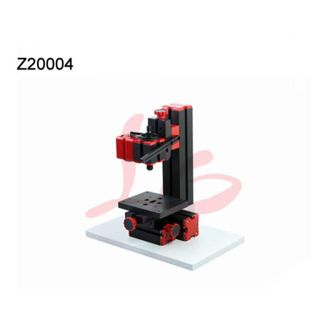 US $102 0 |Mini Drilling Machine Working table size 123*100mm work for wood  board, plywood, soft meta(aluminum ,copper etc)-in Milling Machine from