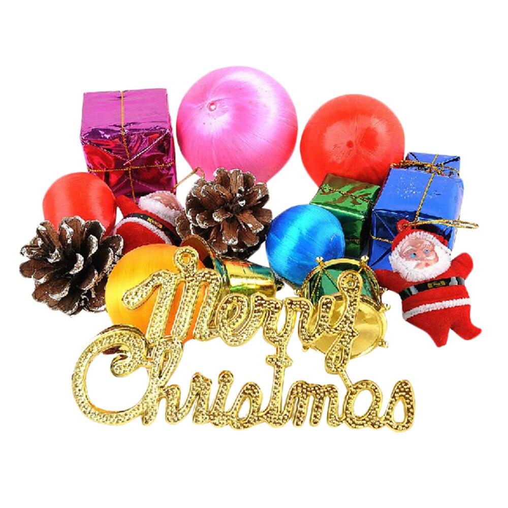 Styrofoam christmas ornaments - Hot Santa Claus Bell Pinecone Christmas Tree Decoration Supplies Ornament Decorations Styrofoam Ball 2016 New Year