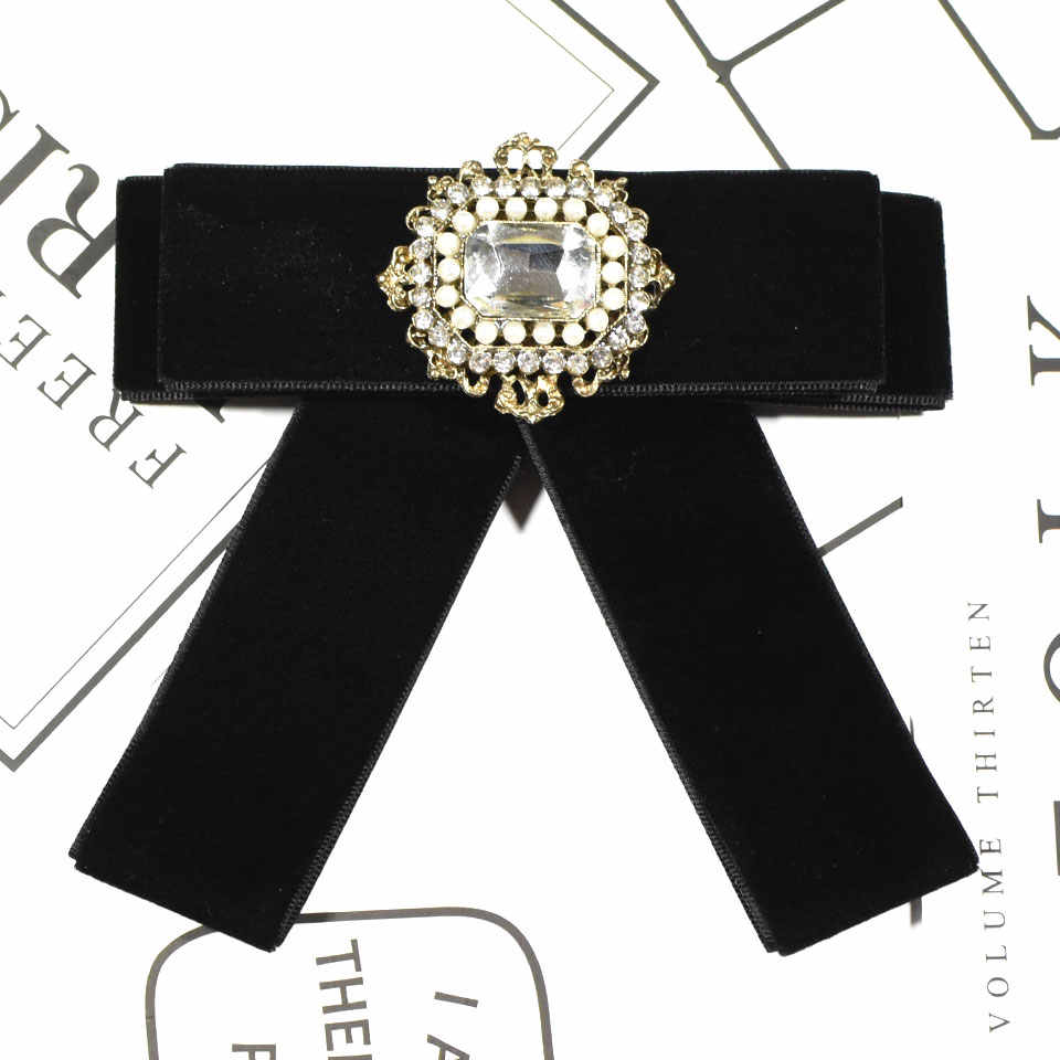 i-Remiel Metal Flannel Bow Bowtie Bowknot Brooch Broche Broches Badge Pin  Pins And Brooches 34dcac928cf5