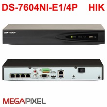 POE NVR DS-7604NI-E1/4P  DS-7608NI-E2/8P DS-7616NI-E2/8P support 5mp IP camera Embedded P2P network video recorder CCTV Camcoder