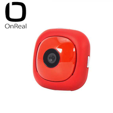 OnReal Action Camera Mini Size Camera with Sports stand 1080P Red Wifi Innovation Camera Compatible with iOS/Android original soocoo ps2 1 axis adjustable gryo stabiliser compatible with all sprots action camera and smart phone