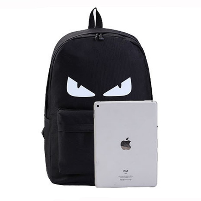 2017 New Fashion Night light Casual Men's Backpack Anime Luminous Teenagers Men Student Cartoon School Bags Travel Rucksack