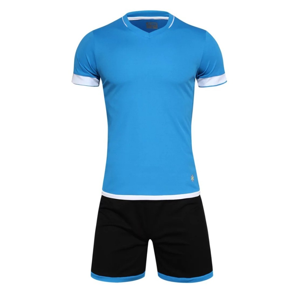 men s training shortJersey leeve font b jersey b font breathable running sets sportswear font b