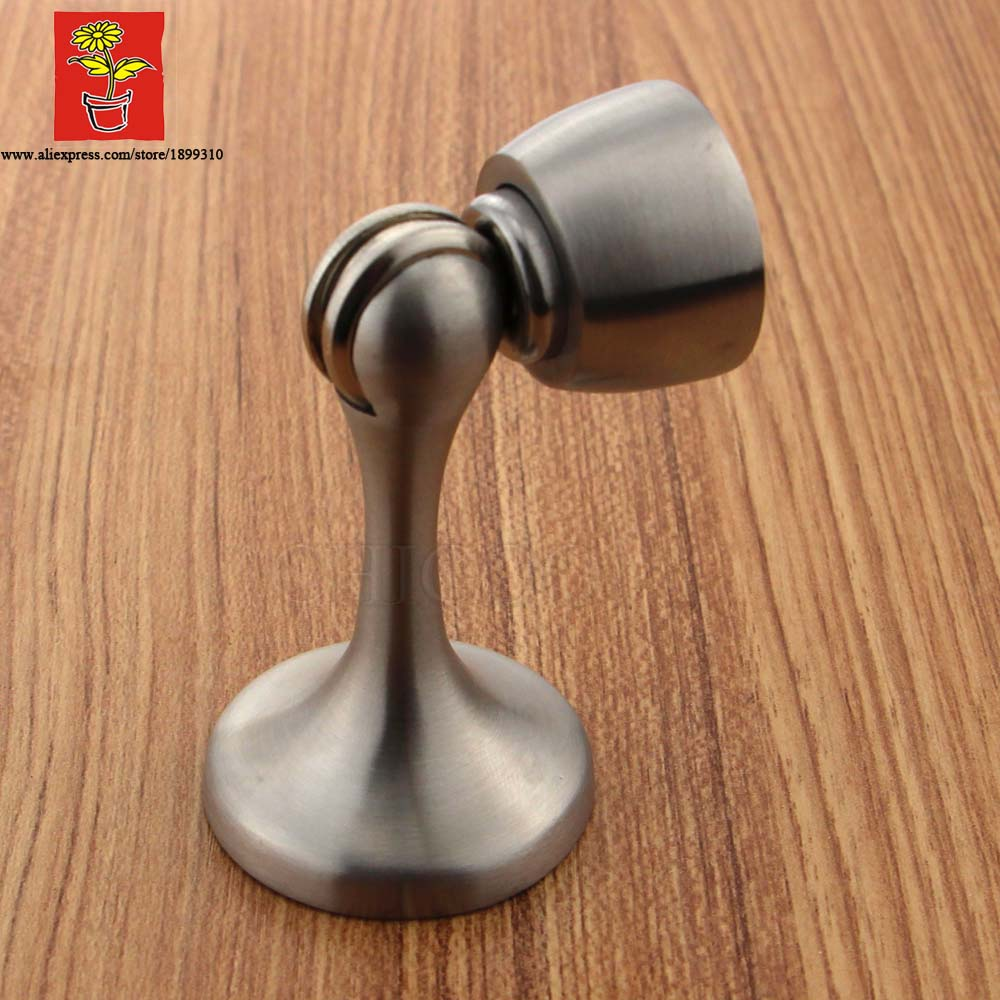 Stainless Steel 304 Magnetic Door Stopper,wall Magnetic Door Stopper,doorstops,door holder stainless steel gate chamber door magnetic resistance wall suction super