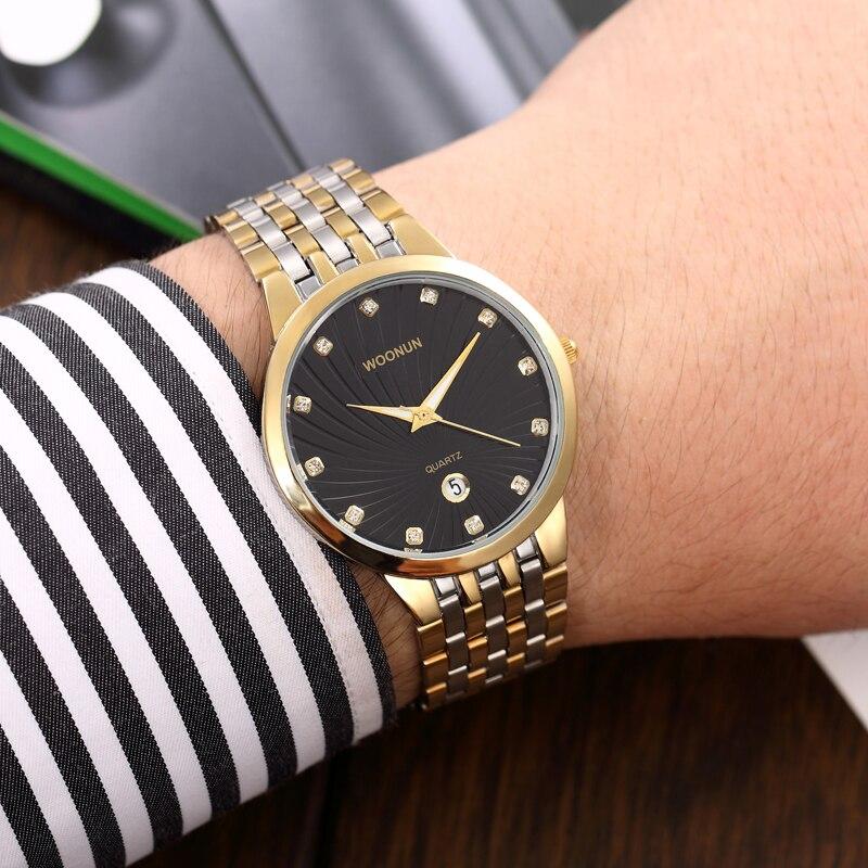 WOONUN Ανδρικά ρολόγια Top Brand Πολυτελή - Ανδρικά ρολόγια - Φωτογραφία 6