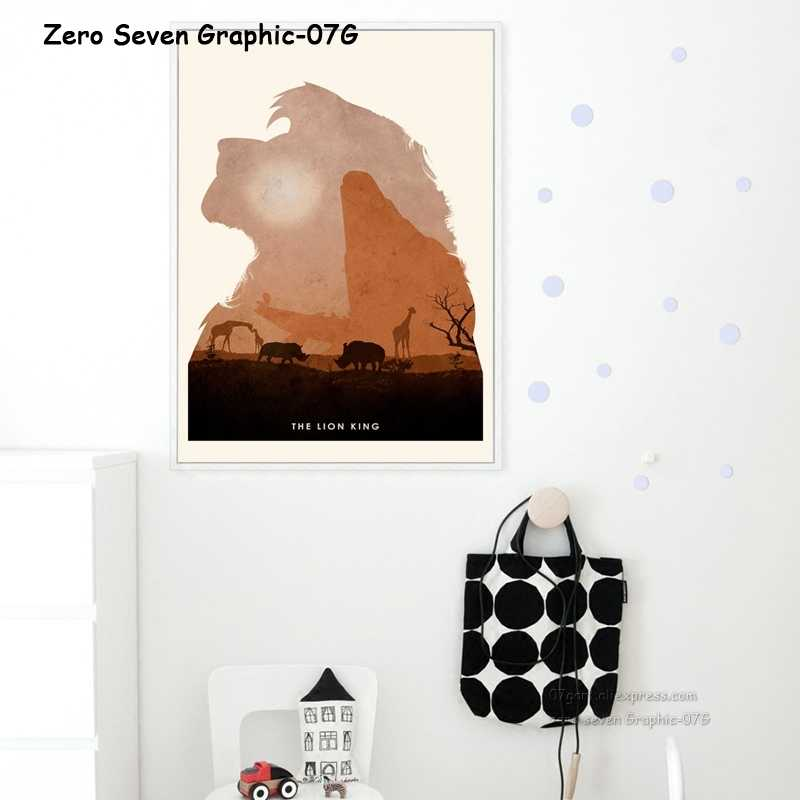Movie The Lion King Canvas Painting Posters And Prints Children's Room Bedroom Wall Art Pictures Home Decor