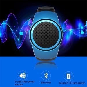 Image 5 - B20 smart watch z samowyzwalaczem Anti Lost Alarm muzyka Sport Mini głośnik wzmacniacz Bluetooth karty TF Radio FM ręce  bezpłatny przenośny