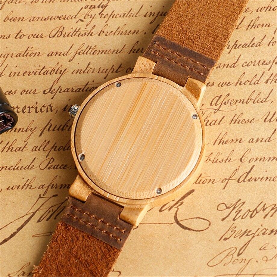 Hot Sale New Creative Elk Deer Head Men Quartz Wood Watch Genuine Hummer Neopo Original Suede Leather Q A