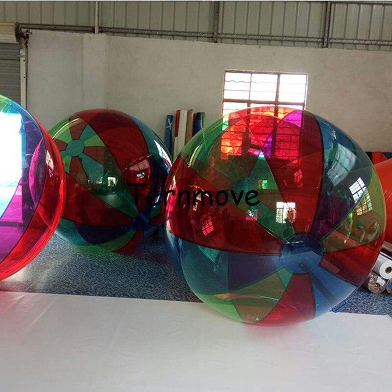 Boule de marche de l'eau, boules de zorb bon marché de pvc à vendre, boules de roulement hydrauliques extérieures de zorb, boules gonflables de piscine de zorb de marche de l'eau