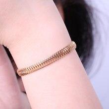 Snake Chain Bracelet Charm Bracelets & Anklet  Jewelry for Women&Men Gift Punk Wholesale