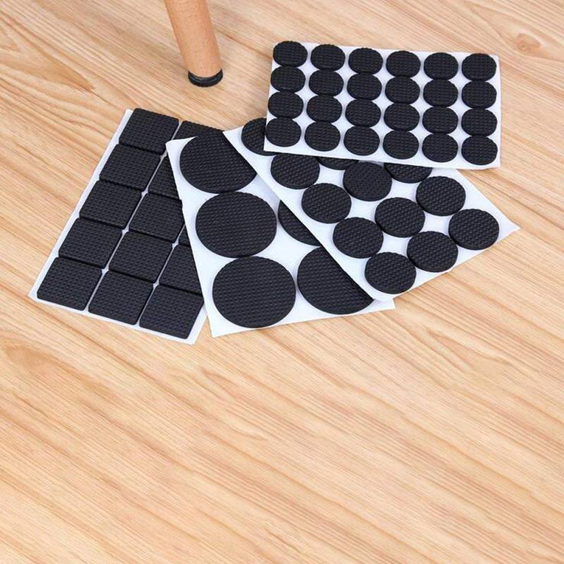 Leg Antiskid Chair Wearproof Soft Non Slip Adhesive Floor Felt Pads Feet Neo Nychium Furniture 48/30PCS Anti Slip Table Mats