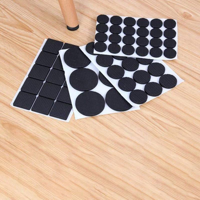 Leg Antiskid Chair Wearproof Soft Non Slip Adhesive Floor Felt Pads Feet Neo Nychium Furniture 48/30PCS Anti Slip Table Mats
