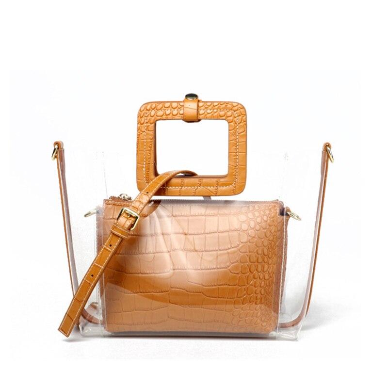 Sacs pour femmes 2019 mode sacs à main dames sac clair femmes Messenger sacs sacs à bandoulière embrayage femme sac à main bolsas sac à main
