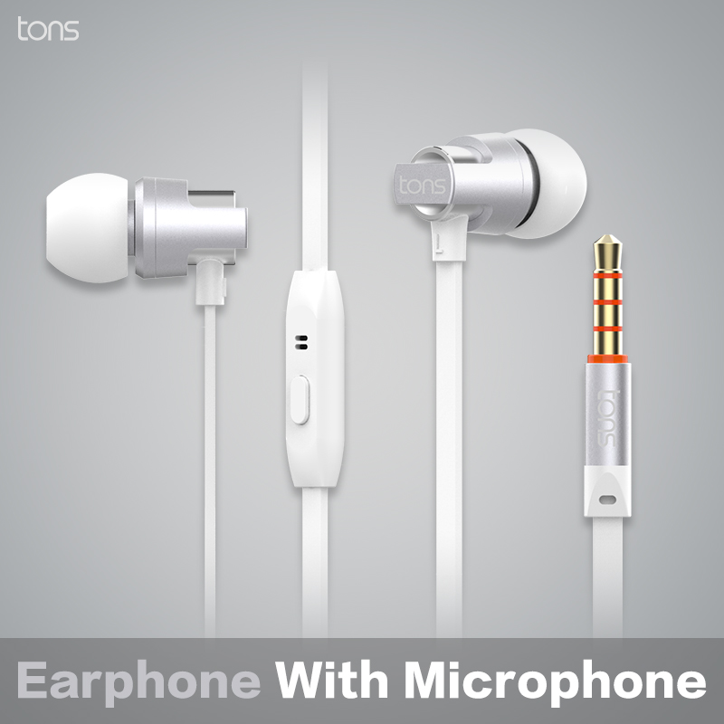 208e90184b9 Aliexpress.com : Buy 100% Original Tons Best Noise Cancelling Stereo  Headphone with MIC Microphone Headphones for Mobile Phone iPhone MP3 PC  from Reliable ...